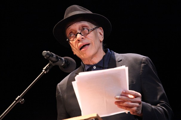 Astrid Stawiarz/GETTY IMAGES -  Novelist Walter Mosley attends the 25th annual Brooklyn tribute to Martin Luther King Jr. at BAM Howard Gilman Opera House.