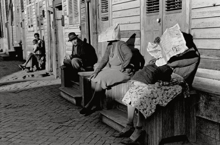 Sunblocked: A Sunday afternoon in New Orleans, 1941. Credit Marion Post Wolcott/Corbis